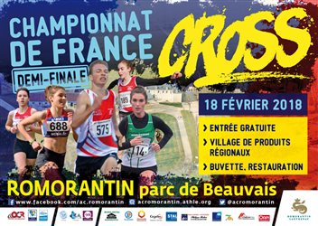 1/2 finale des championnats de France de Cross